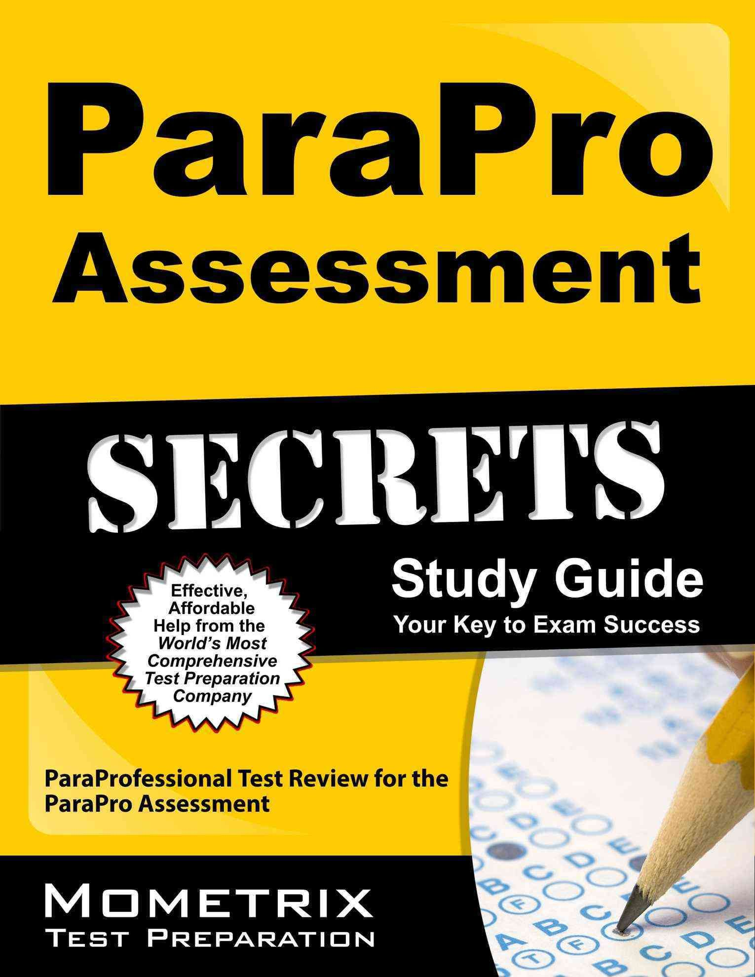 Parapro assessment secrets your key to exam success parapro assessment secrets your key to exam success paraprofessional test review for the parapro malvernweather Gallery