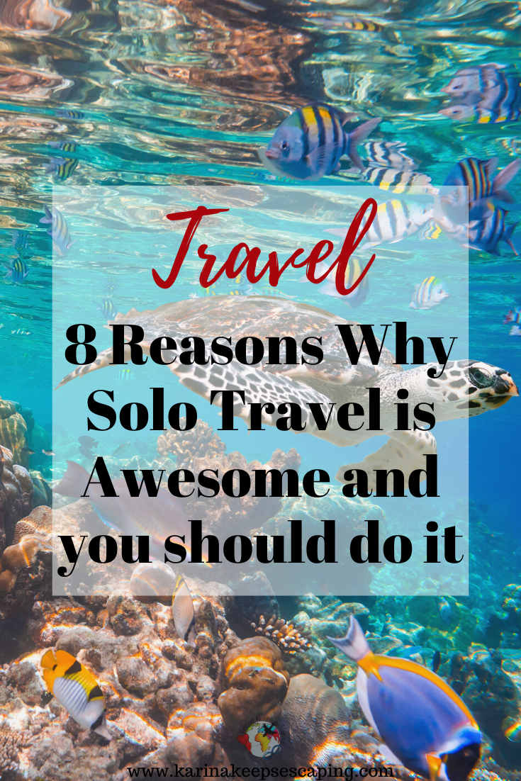 Travelling alone you will find yourself even if you get lost. Here are my 8 Reasons Why Solo Travel is Awesome and why should you consider it at least once in your lifetime. #Solo #Travel #Travelling #SoloTravel #TravelAlone