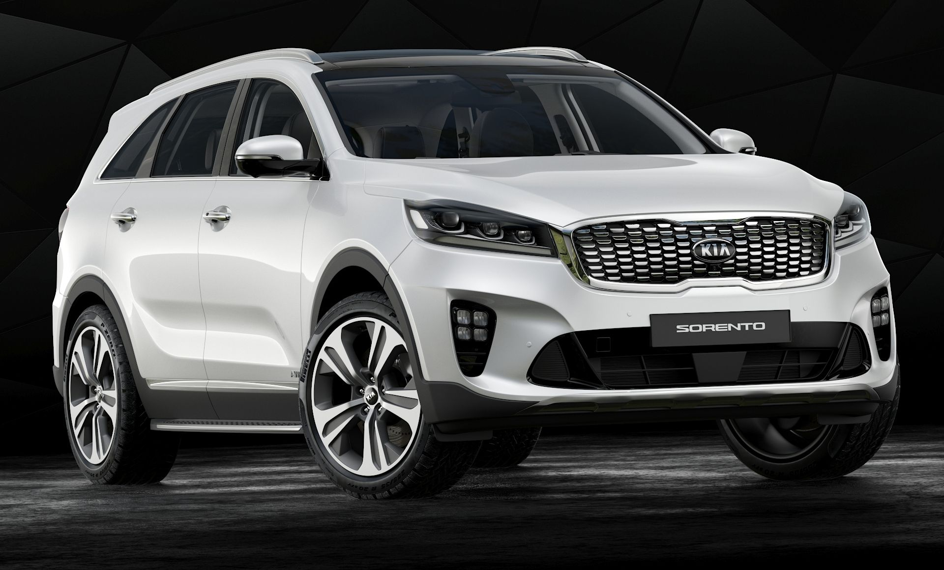 High Detailed 3d Model Of 2019 Kia Sorento With Interior In 2020