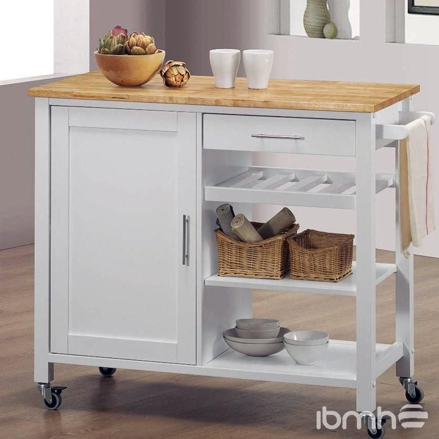 6909 kitchen side table mesa auxiliar cocina kitchens for Mesa auxiliar cocina plegable