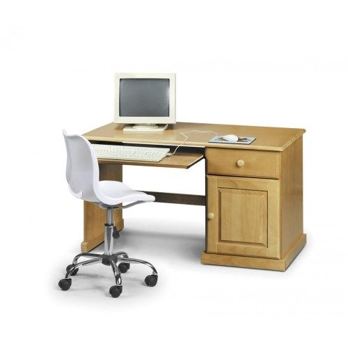 This Surfer Surfer Computer Desk Surfer computer desk is a solid pine  working desk with pull out keyboard shelf. It has an attractive antique pine  finish ... - Stompa Uno S Plus Single Chair Bed Wood Slats, Foam Cushions And