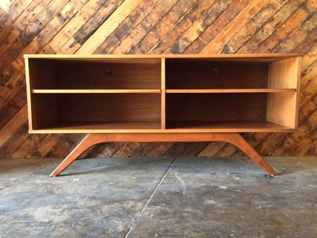 Mid Century Console Credenza by TheHuntVintageLA on Etsy https://www.etsy.com/listing/240898426/mid-century-console-credenza