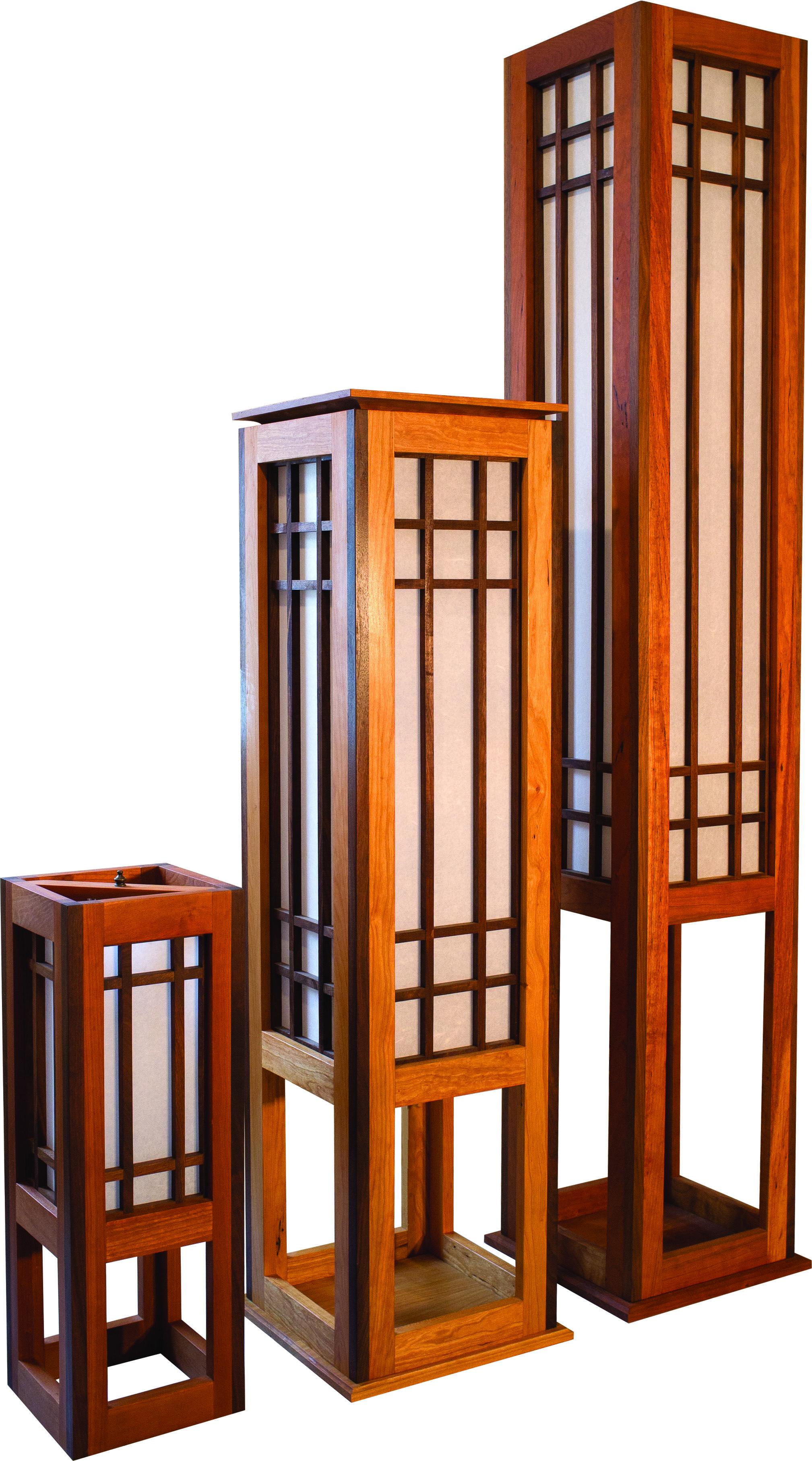 Rockland Shoji Floor Lamp     Sebago Furniture    ...
