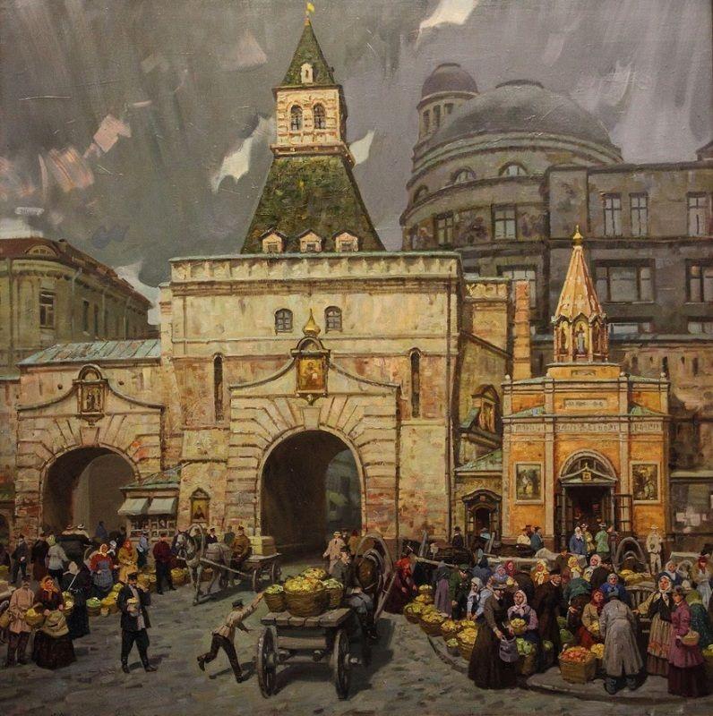"Александр Матрешин . ""Яблочные ворота. Москва. Последние сто лет."""