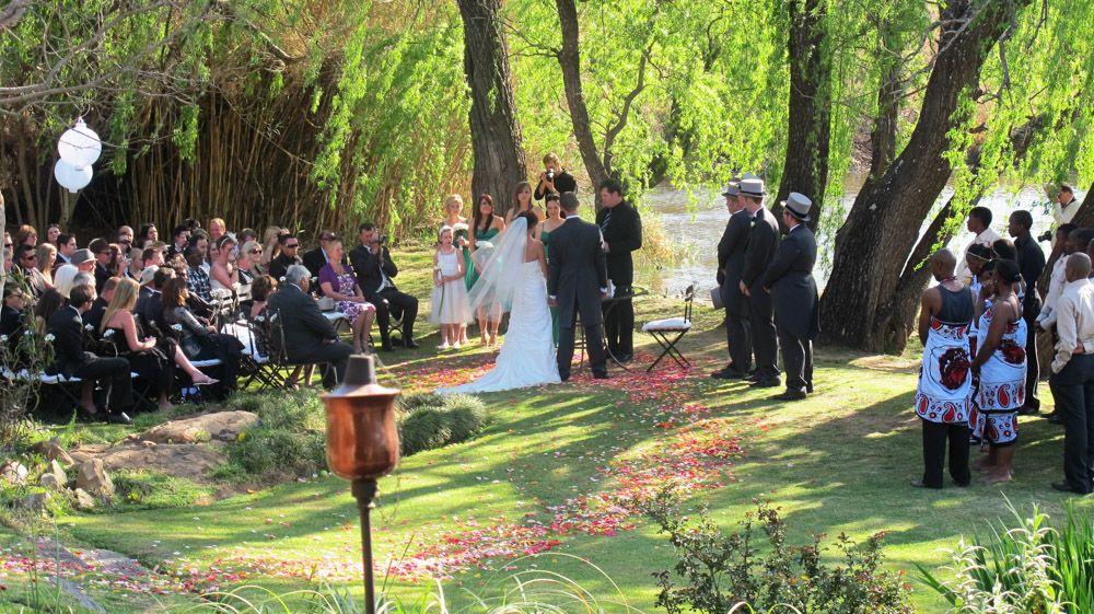 Wedding Venue Gauteng - River-side location