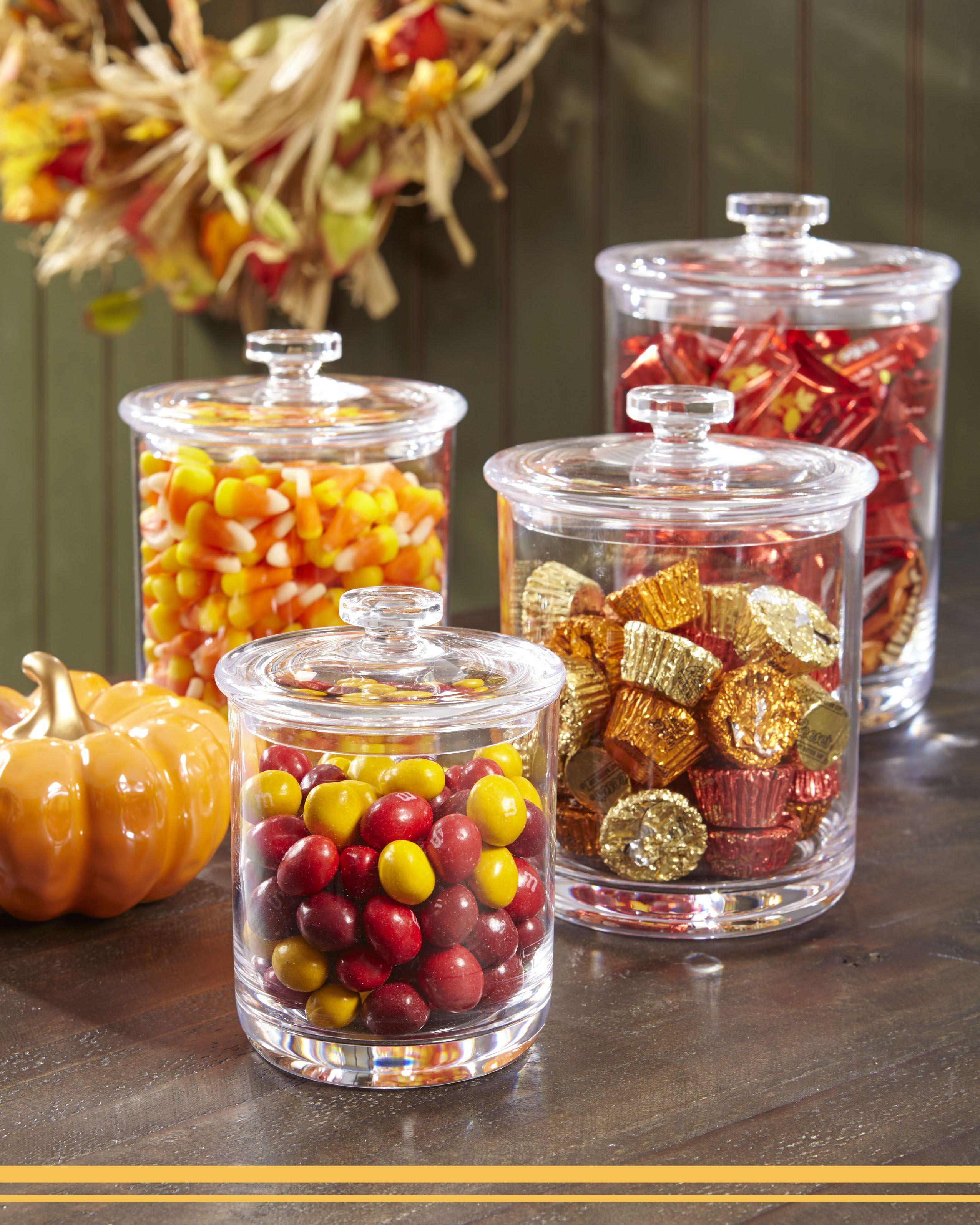 Create A Fall Edible Centerpiece Halloween Kitchen Decor Fall Candy Fall Thanksgiving Decor