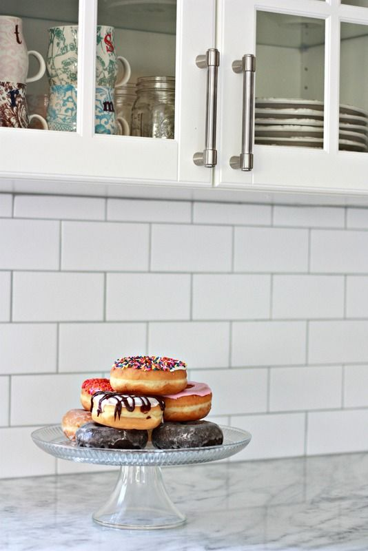 Floor And Decor Subway Tile Delectable Subway Tile With Silver Grout  House Stuff  Pinterest  Subway Design Decoration