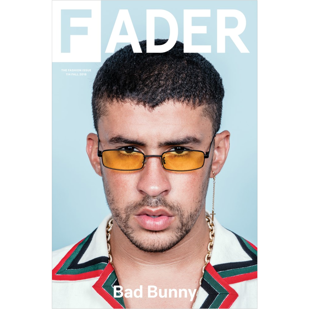 Bad Bunny The Fader Issue 114 Cover 20 X 30 Poster Bunny Fashion Bunny Poster Bunny