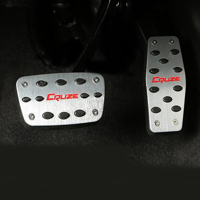 Stainless Steel Brake and accelerator Pedal car accessories for ...