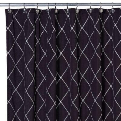 Bed Bath & Beyond Wellington 54-Inch x 78-Inch Shower Curtain in ...