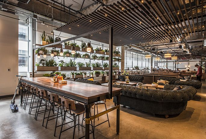 Dropbox cafeteria avroko seatings arrangement and the