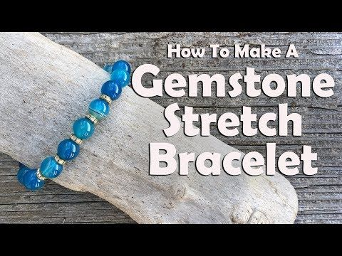 Photo of Make Gemstone Stretch Bracelets – Running With Sisters