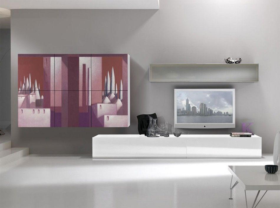 Arredamento Lombardo ~ Exential art wall unit lombardi 02 by spar $7 645.00 italian