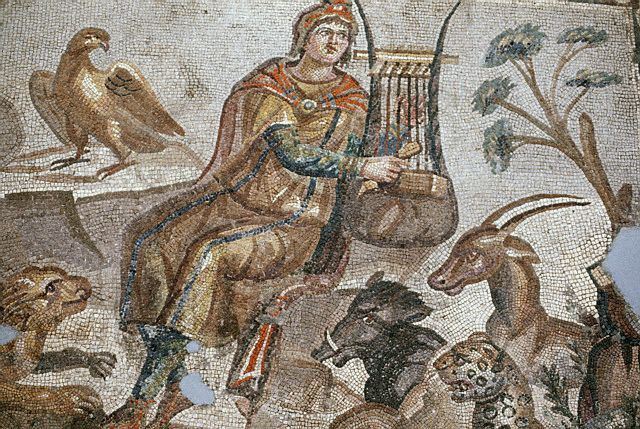 A 3rd century mosaic from Tarsus, Turkey