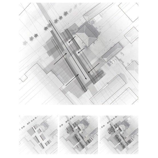 Arkitektur arkitektur sketch : copenhagen project / vaclav suba architecture /drawing / concept ...