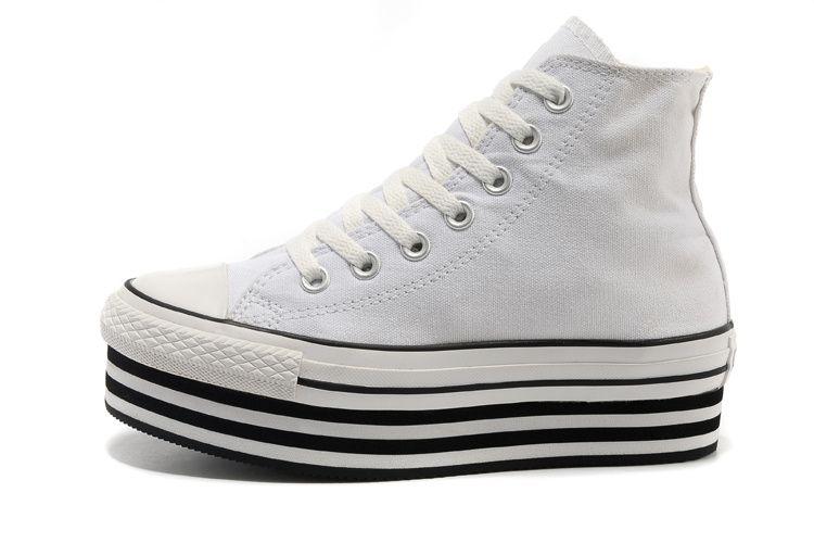 Converse Women Sneakers Converse High Tops Double Platform