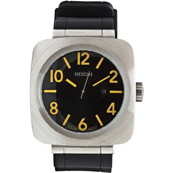 Nixon Volta Pu Watch ($192) ❤ liked on Polyvore