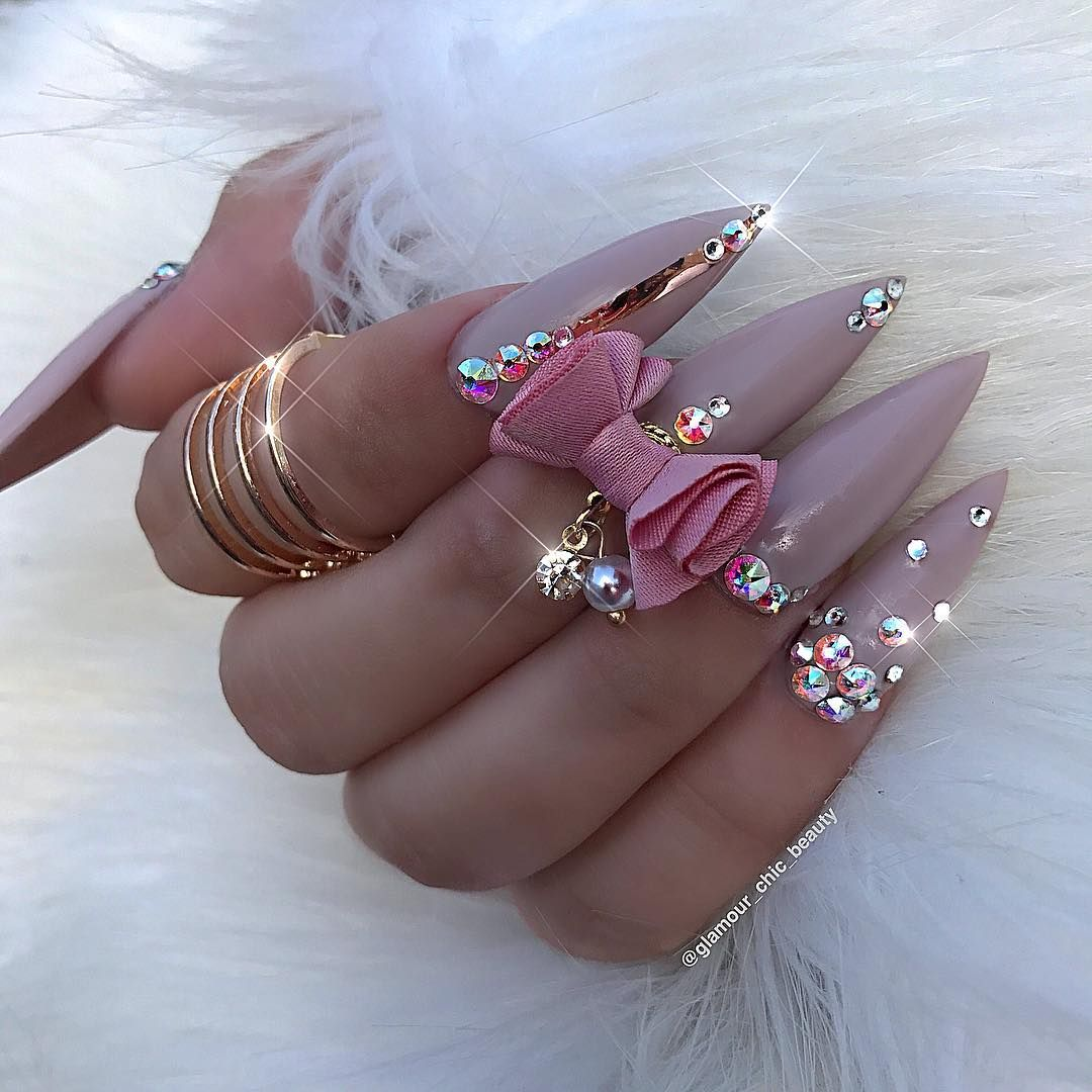 Pin by Melanated Rose on Nails Galore   Luxury nails