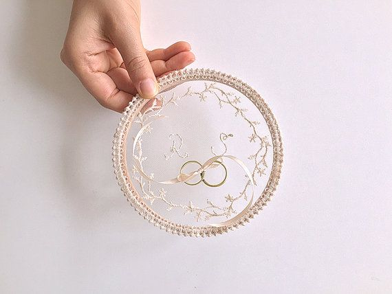 Verlobungsring Alternative Custom Ring Pillow, Ring Pillow Alternative, Ring Bearer Pillow, Monogram, Ring Bearer