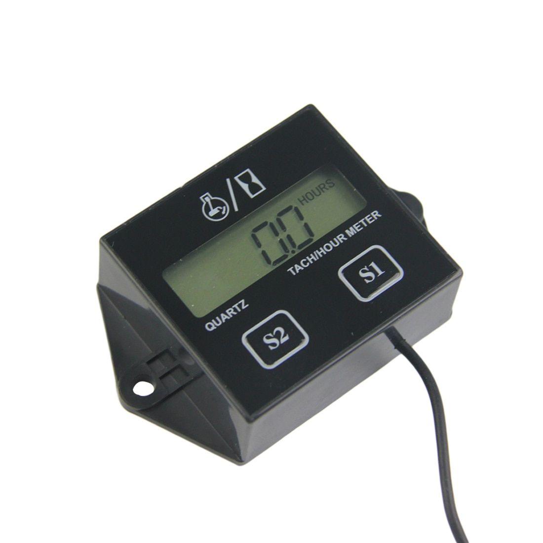 Best Price Engine Spark Tech Hour Meter Digital Engine Tachometer