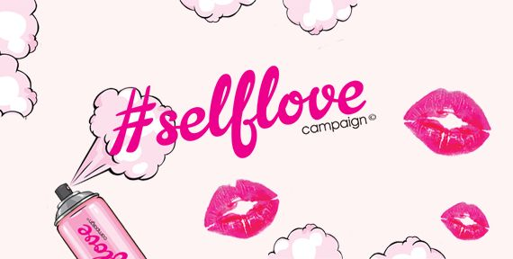 Glitter Self Love campaign