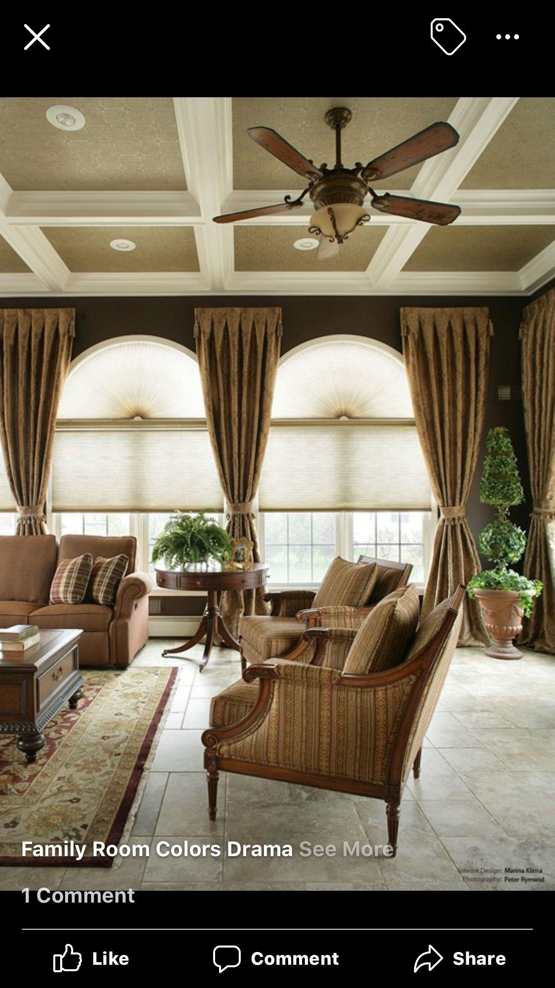 Living Room Windows Design: Idea By Cassie McMillan On 5957 Blue Sky Ln