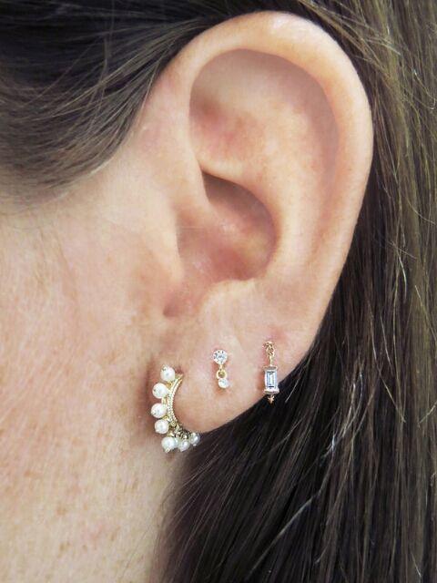 883651942 Maria Tash - Single Earrings! | Single Earrings | Jewelry, Earrings ...