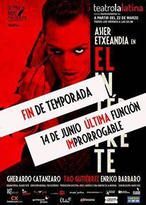 """El Intérprete - Cartel """"Prorrogamos"""""""