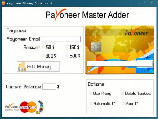 Payoneer Money Adder Generator Money generator, Paypal