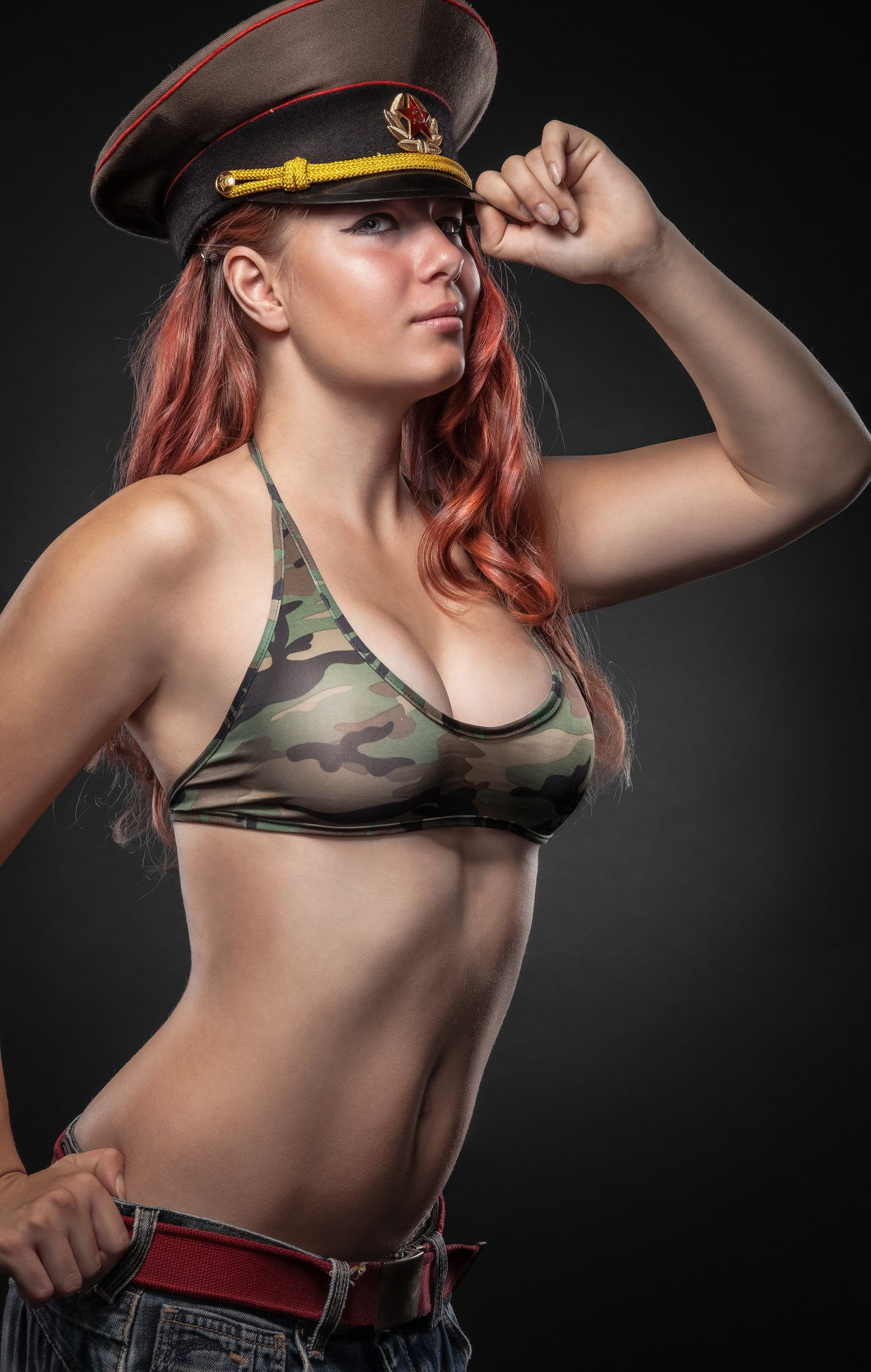 Agree with Nude army pin up