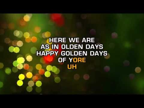 christina aguilera have yourself a merry little christmas karaoke - Christina Aguilera Have Yourself A Merry Little Christmas