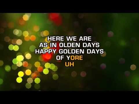 christina aguilera have yourself a merry little christmas karaoke
