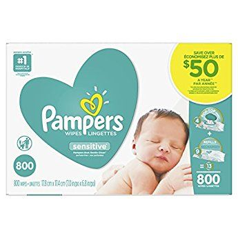 Pampers Sensitive Baby Wipes (800 ct.) | Baby wipes ...