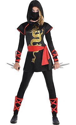 teen girls ultimate ninja costume