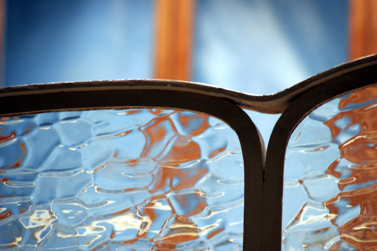facets of images. Thousand Eyes. #glass