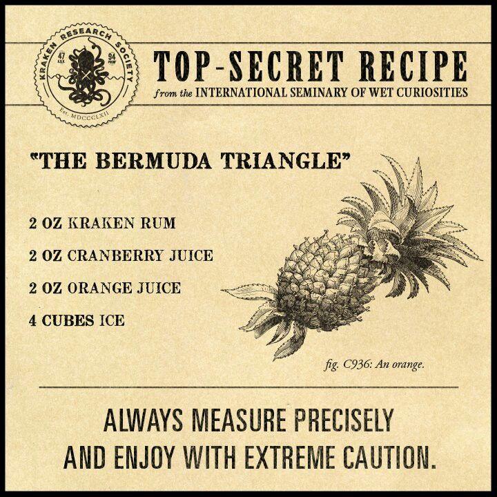 Kraken Rum Drinks Alcohol Recipes Kraken Rum Rum Recipes