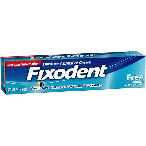 graphic relating to Fixodent Coupons Printable referred to as Fixodent Denture Adhesive Product -  Productos