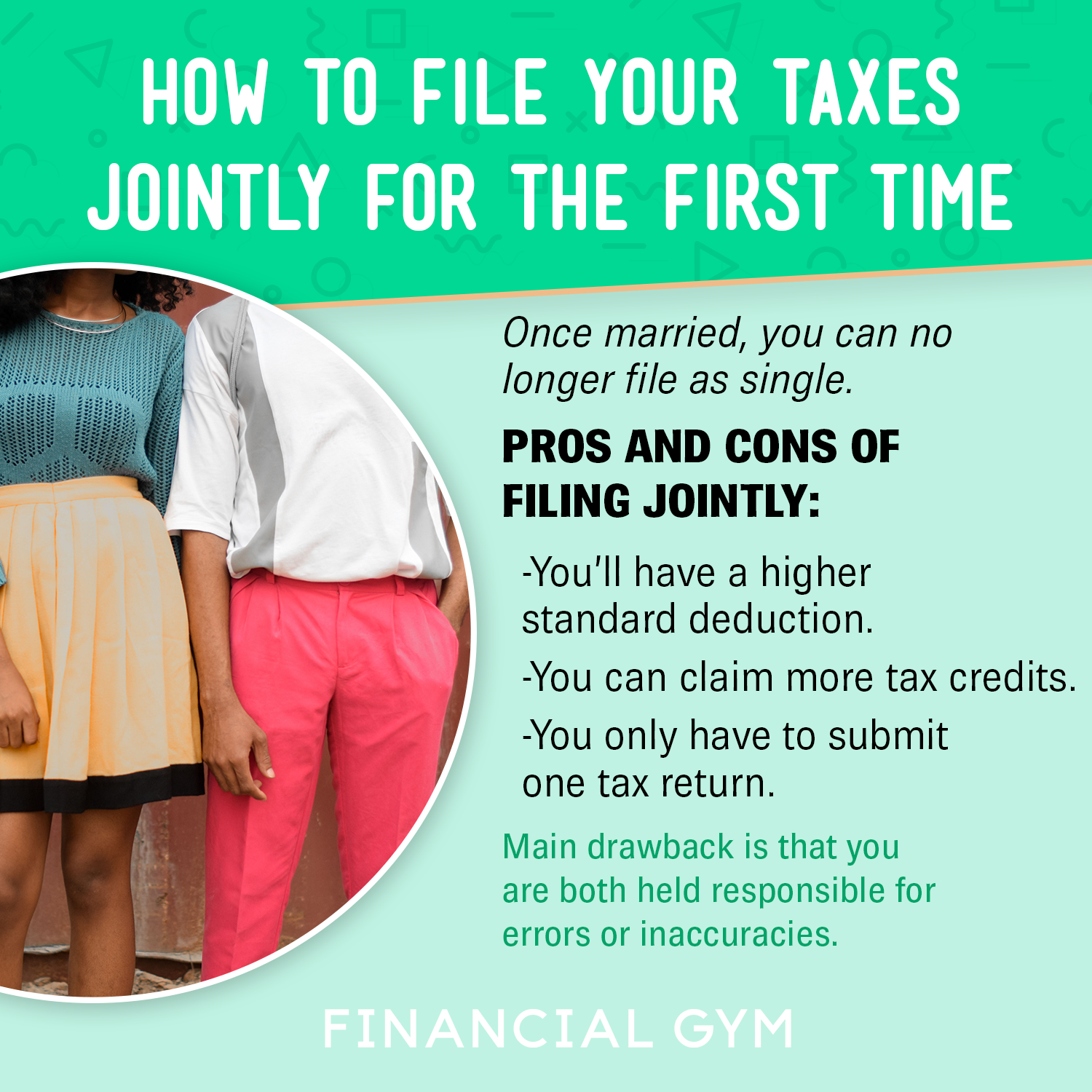 How to File Your Taxes Jointly for the First Time in 2020 ...