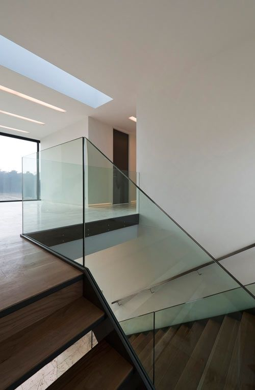 Best Bridge House Glass Staircase インテリア 建築 階段 400 x 300