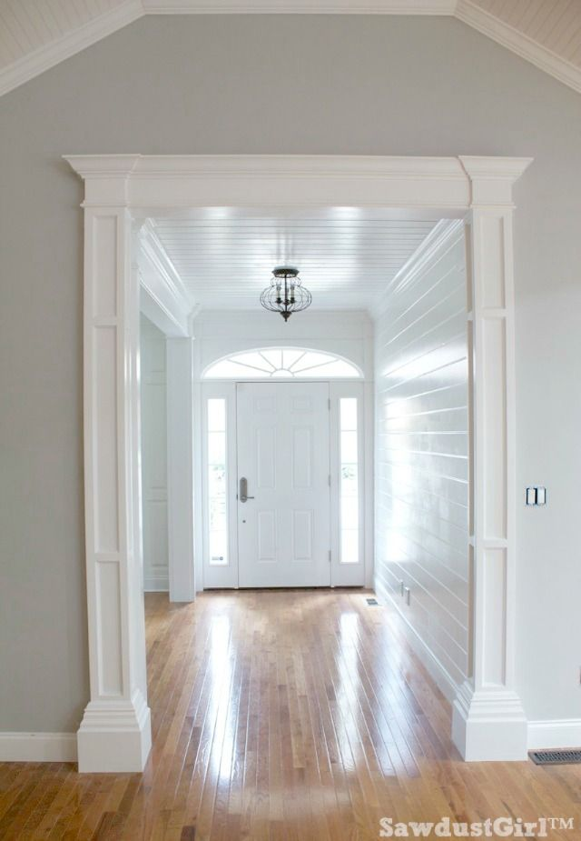 How to build decorative columns bloggers 39 best diy ideas for Decorative archway mouldings