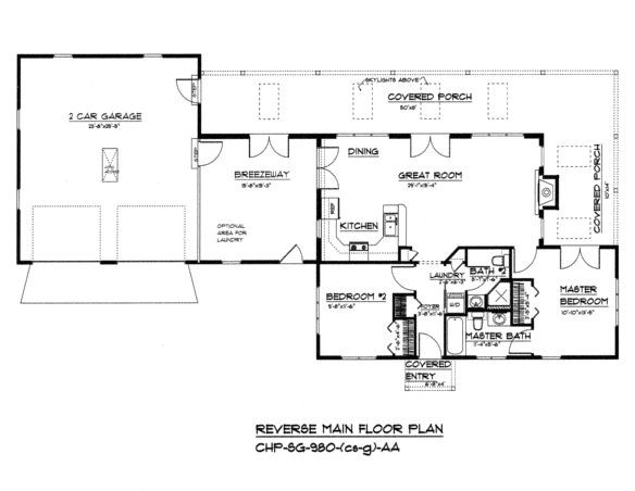 sg 980 reverse floor plan crawl slab garage floor plans on small modern home plans design for financial savings id=52824