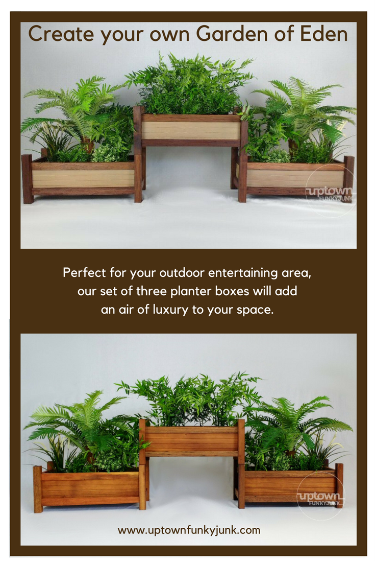 Vertical Garden Planter | Planters, Reclaimed timber and Funky junk