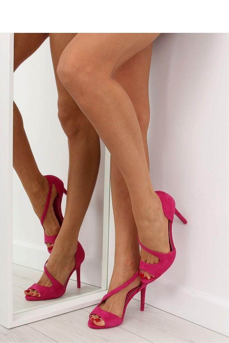 02977e5f03d Fashion e-Shop/Παπούτσια/Πέδιλα/Σουέντ ψηλοτάκουνα πέδιλα - Φούξια - 040 -INELLO379