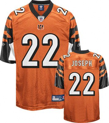 reebok cincinnati bengals johnathan joseph 22 orange authentic jersey sale