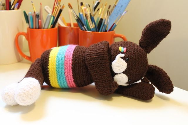 Amigurumi Chocolate Bunny Free pattern   Amigurumi and Dolls   Pinterest