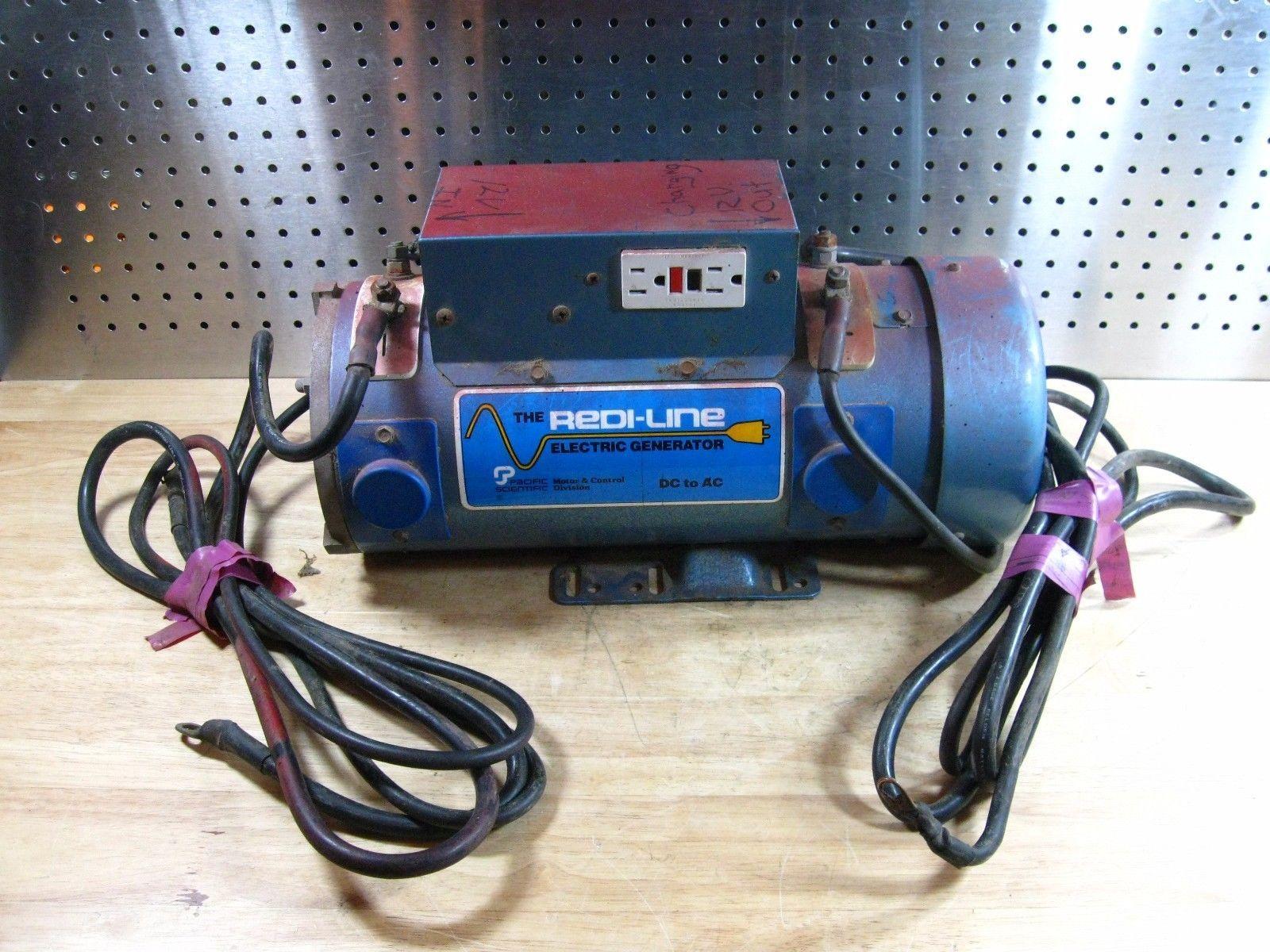 Redi Line Electric Generator Da12l 1600 Gfi 12v Dc 120v Ac Generator 1600w Stuff To Buy Electronic Products Walkman