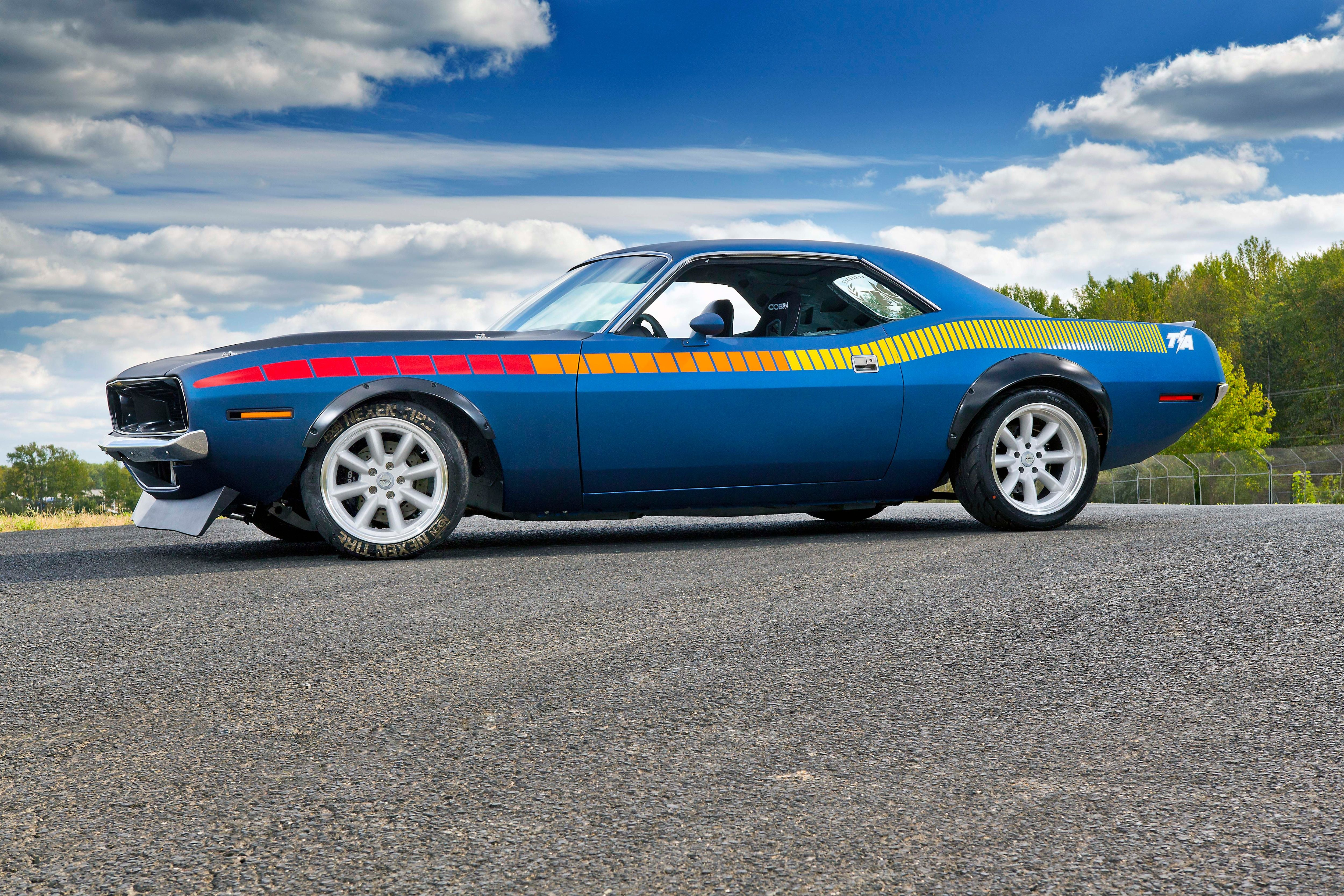 This Is A Drift Car That Looks Like A Muscle Car Powered By A Late