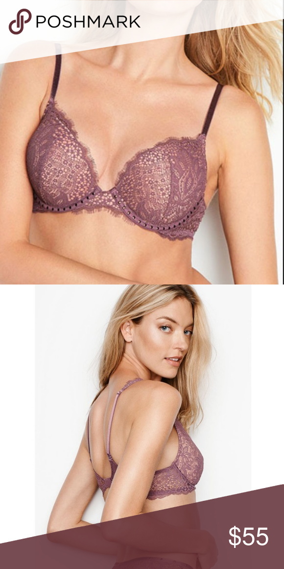 75c6e4ad7ec8c NEW Victoria's Secret Bombshell Push-Up Bra 32B Victoria's Secret Bombshell  Add 2 Cup Push-Up Bra New Tags marked/cut to prevent return to store Color  Light ...