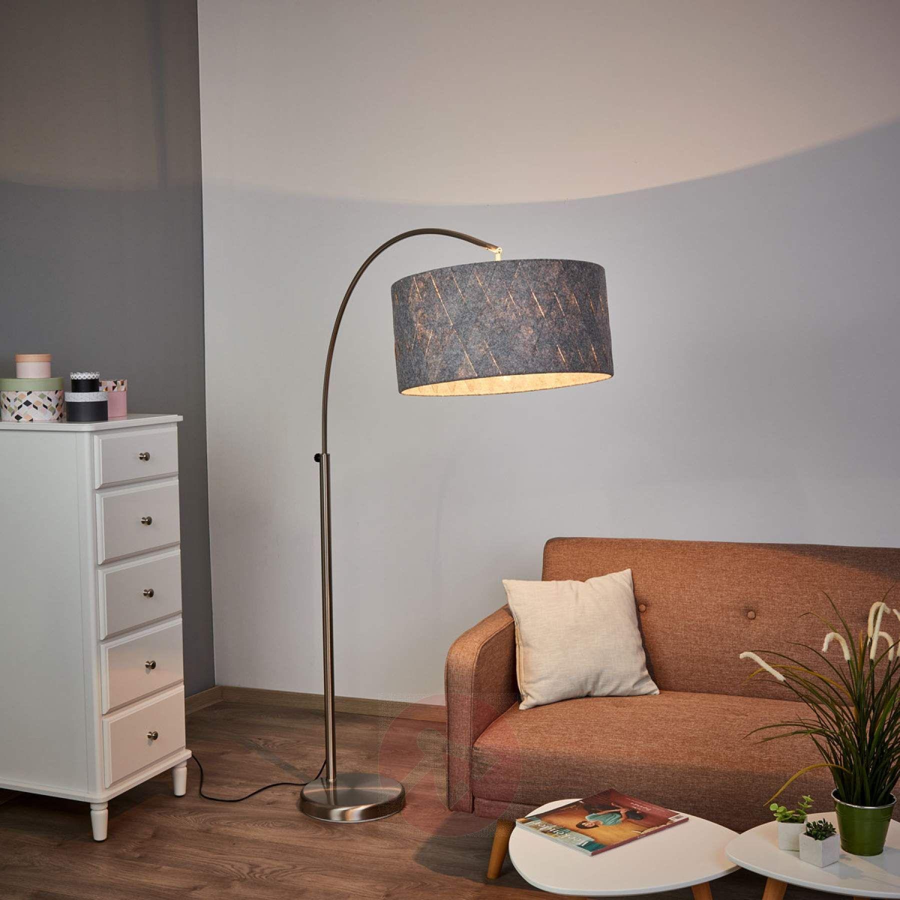 Schone Bogen Stehlampe Flint 9520044 01 Stehlampe Wohnzimmer