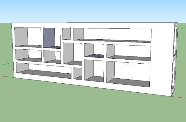 067 - Première structure achevée ! Début de la seconde Pinterest - fabriquer meuble en placo